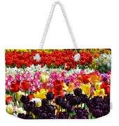 Field Of Tulips Ll Weekender Tote Bag