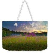 Field Of View Sunset Weekender Tote Bag