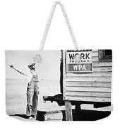 Field Office Of The Wpa Government Agency Weekender Tote Bag