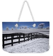 Fields And Fences Weekender Tote Bag