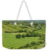 Fields In Northern Ireland Weekender Tote Bag
