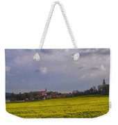 Fields Of Rapeseed In Bloom, Lower Weekender Tote Bag