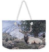 Fields Peak Elk Weekender Tote Bag