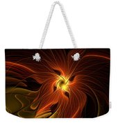 Fiery Weekender Tote Bag by Amanda Moore