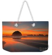 Fiery Bandon Beach Weekender Tote Bag by Adam Jewell