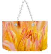 Fiery Dahlia Weekender Tote Bag