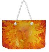 Fiery Love Weekender Tote Bag