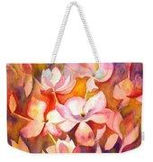 Fiery Magnolias Weekender Tote Bag