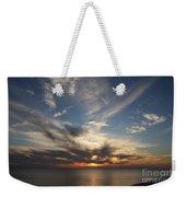 Fiery Sunset Skys Weekender Tote Bag