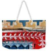 Fiesta 3- Colorful Pattern Painting Weekender Tote Bag