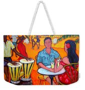 Fiesta At The Beach Weekender Tote Bag