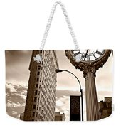 Fifth Avenue Building Weekender Tote Bag