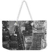 Fifth Avenue In New York City. Weekender Tote Bag