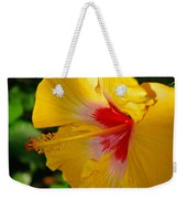 'fifth Dimension' Hibiscus Weekender Tote Bag