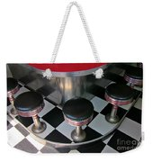 Fifties Diner Detail Weekender Tote Bag