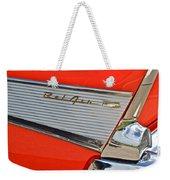 Fifty Seven Chevy Bel Air Weekender Tote Bag