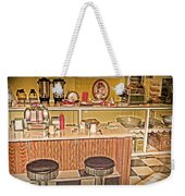 Fifty's Lunch Counter  Nostalgic Weekender Tote Bag
