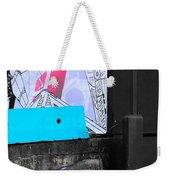 Fight With Lots Weekender Tote Bag