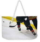 Fighting For The Puck Weekender Tote Bag