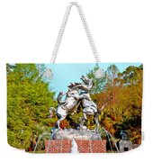 Fighting Stallions Weekender Tote Bag