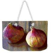 Figs Still Life Pop Art Weekender Tote Bag