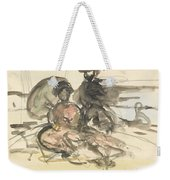 Figure Study Two Women Seated Weekender Tote Bag