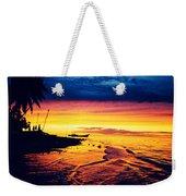 Fiji Paradise Sunset Weekender Tote Bag