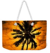 Fijian Sunset Weekender Tote Bag