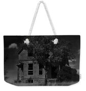 Film Homage Anthony Perkins Janet Leigh Alfred Hitchcock Psycho 1960 Vacant House Black Hills Sd '65 Weekender Tote Bag