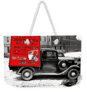 Film Homage Assassin Of Youth 1937 John Vachon Omaha Nebraska 1937-2010  Dwain Espair Weekender Tote Bag