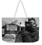 Film Homage Barbara Payton Bride Of The Gorilla 1951 Gorilla Mascot July 4th Mattress Sale 1991 Weekender Tote Bag