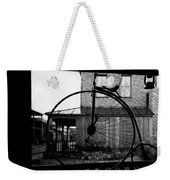 Film Homage Buster Keaton Our Hospitality 1923 Unicycle Old Tucson Arizona 1967-2008 Weekender Tote Bag