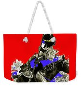 Film Homage Cameron Mitchell The High Chaparral Fighting Apache Publicity Photo Collage Weekender Tote Bag