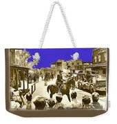 Film Homage Cameron Mitchell The High Chaparral Main Street Old Tucson Az Publicity Photo Weekender Tote Bag