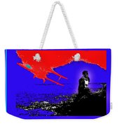 Film Homage Cary Grant Biplane Collage Publicity Photo North By Northwest 1959-2012 Weekender Tote Bag