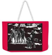 Film Homage Charles Chaplin The Gold Rush 1925 Camera Crew Collage 2010 Weekender Tote Bag