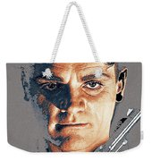 Film Homage Close-up James Cagney Angels With Dirty Faces 1939-2014 Weekender Tote Bag