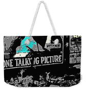 Film Homage Dolores Costello George O'brien Noah's Ark 1928 Ralph Steiner 1929-2008 Weekender Tote Bag