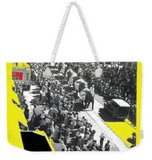 Film Homage Fox Tucson Theater Marquee Cole Bros. Circus Elephant Parade 1936-2008 Weekender Tote Bag