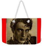 Film Homage Gary Cooper 1929-2009  Collage Color Added Weekender Tote Bag