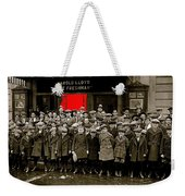 Film Homage Harold Lloyd The Freshman  City Orphans Ambassador Theater Washington D.c. 1925-2010  Weekender Tote Bag