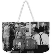 Film Homage Harrison Ford Witness 1985 Amish El Con Shopping Center Tucson Arizona 1968-2008 Weekender Tote Bag