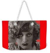 Film Homage Joan Crawford Louis Milestone Rain 1932 Collage Color Added 2010 Weekender Tote Bag