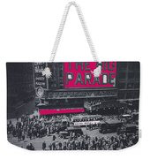 Film Homage John Gilbert King Vidor The Big Parade 1925 Color Added 2010 Weekender Tote Bag