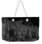 Film Homage John Wayne 'neath Arizona Skies 1934 California Powder Works Congress Tucson Az Ca.1900 Weekender Tote Bag
