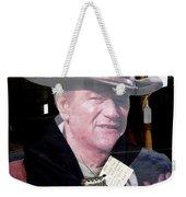 Film Homage John Wayne The Man From Monterey 1933 Cardboard Cut-out Window Tombstone Arizona 2004  Weekender Tote Bag