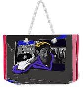 Film Homage Julian Rivero Burn 'em Up Barns 1934 Mascot Serial Collage Screen Capture 2008 Weekender Tote Bag