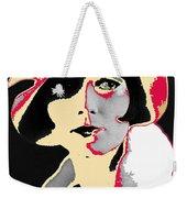 Film Homage Louise Brooks In Flapper Hat 1927-2013 Weekender Tote Bag