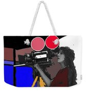 Film Homage Mary Pickford Little Annie Rooney 1923 Color Added 2010 Weekender Tote Bag