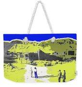 Film Homage Old Tucson Arizona In The Mid 1940's Weekender Tote Bag